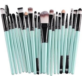 KOLIGHT 20 Pcs Pro Makeup Set Powder Foundation Cosmetic Brushes