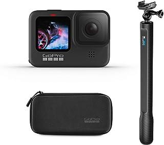 GoPro HERO9 Black Bundle with El Grande Mount (38in Extension Pole)