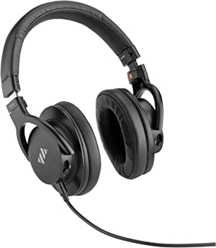 Polsen HPS-A40 Over-Ear USB Wired Professional Headphones