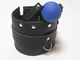 Leather Posture Collar Safe Ball G-Â'G Mouth