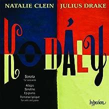 Kodaly: Sonata for Solo Cello; Adagio; Sonatina; Epigrams
