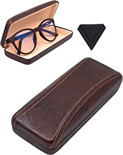 Vegan Leather Eyeglass Case | Bonus Microfiber Cleaning Cloth