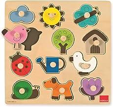Goula - Puzzle siluetas, piezas de madera (Diset 53118) ,