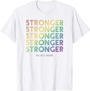 Britney Spears - Stronger (Rainbow) T-Shirt