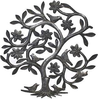 "Sponsored Ad - Vineworks Fair Trade Summer Birds Metal Tree of Life from Haiti 23"""