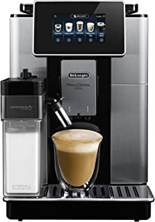 De'Longhi Primadonna Soul, Fully Automatic Coffee Machine, ECAM61075MB, Bean Adapt Technology for Perfect Extraction, Latt...