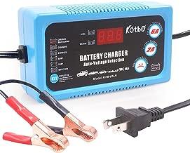 Katbo 6 Amp Smart Battery Charger 6V 12V Automatic and Manual