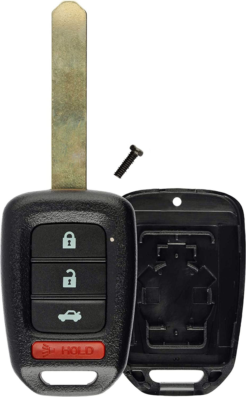 KeylessOption Keyless Detroit Mall Entry Remote Uncut Sale price Key Cove Fob Shell Case
