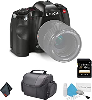 Leica S (Typ 006) Medium Format DSLR Camera (Body Only) 10803 37.5MP - Bundle with 64GB Memory Card