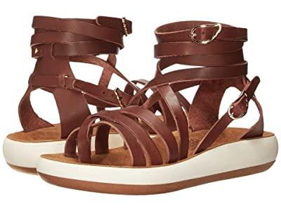 Ancient Greek Sandals Satira Comfort (Chestnut) Women