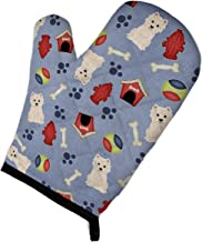 """Caroline's Treasures BB2655OVMT Dog House Collection Westie Oven Mitt, 12"""" by 8.5"""", Multicolor"""