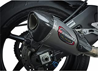 Yoshimura 06-18 Yamaha YZF-R6 Alpha T Slip-On Exhaust (Street/Stainless Steel/Stainless Steel/Carbon Fiber/Works Finish)