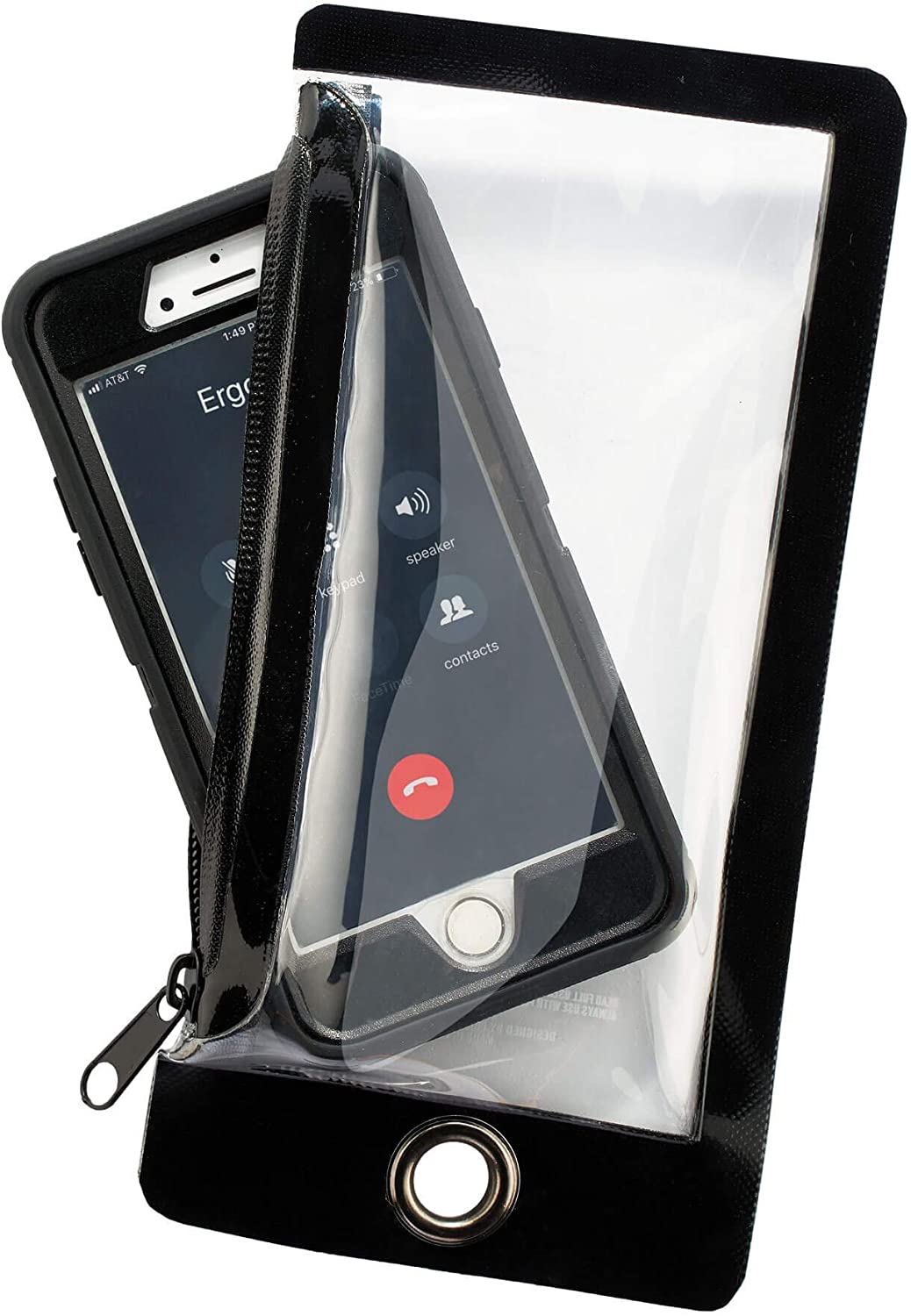 Water Resistant Phone Pouch Attache Zippered Courier All items free shipping shipping free Cell Sleeve
