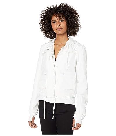 Blanc Noir Skyfall Aviator Jacket (White Camo) Women