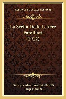 La Scelta Delle Lettere Familiari (1912)