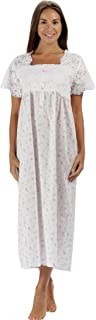The 1 for U 100% Cotton Short Sleeve Ladies Nightdgown - Elizabeth