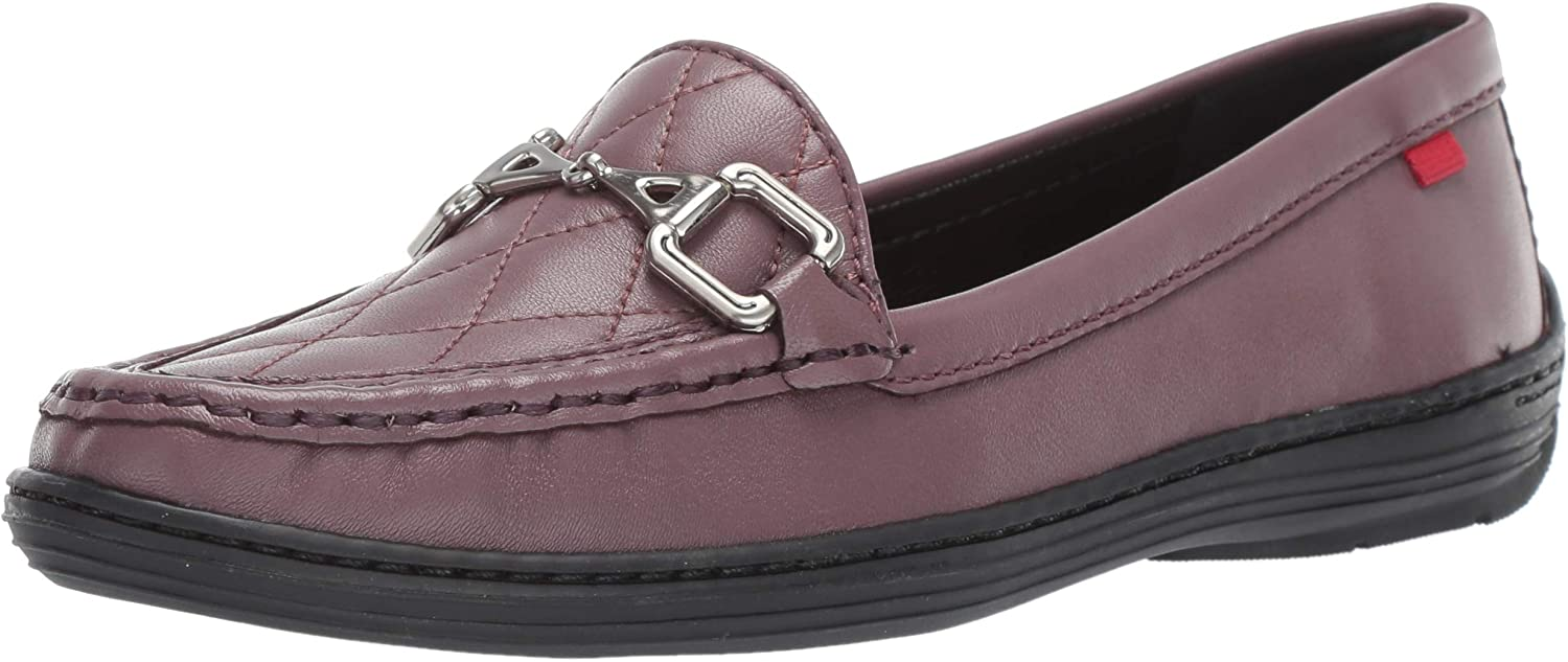 MARC JOSEPH NEW YORK Womens Womens Genuine Leather Made in Brazil Mulberry Loafer Driving Style Loafer