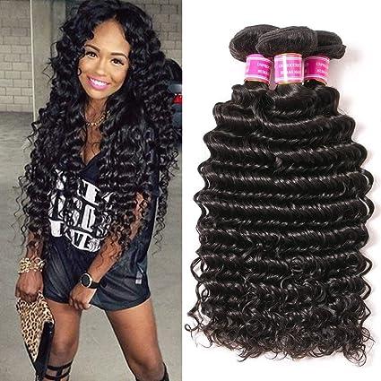 VRBest Brazilian Deep Wave 100% Unprocessed Virgin Hair Bundles