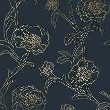 Amazon Com Blue And Gold Wallpaper