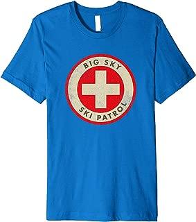 Big Sky Montana Ski Patrol Skiing T-Shirt