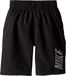 "8"" Logo Solid Lap Volley Shorts (Big Kids)"