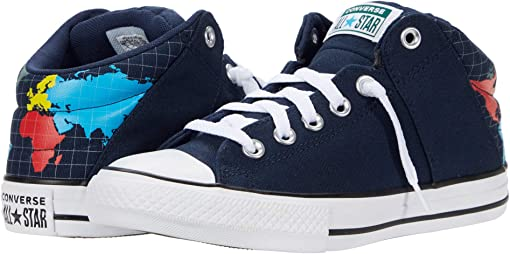 Obsidian/Sail Blue/White