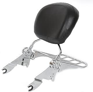 Chrome Detachable Backrest Sissy Bar + Luggage Rack For Harley Touring 09-19 New