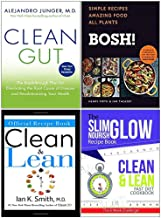 Clean Gut, Bosh Simple Recipes, The Official Clean & Lean Recipe Book, Clean and Lean Fast Diet Cookbook 4 Books Collection Set
