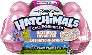 Hatchimals ColleGGtibles Rose Gold Collection 6 pack carton