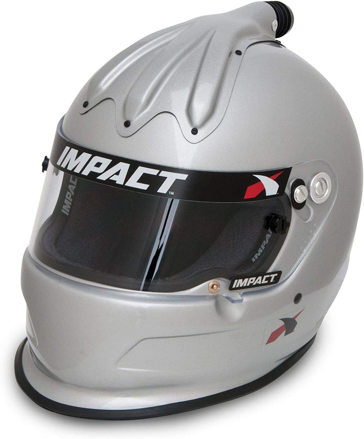 Impact Racing 17015308 Helmet - SM Charger Silver Super sold Max 71% OFF out SNELL15
