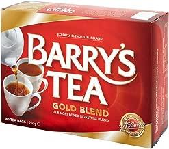 Barrys Tea Gold Blend Tea bags - 80 Count