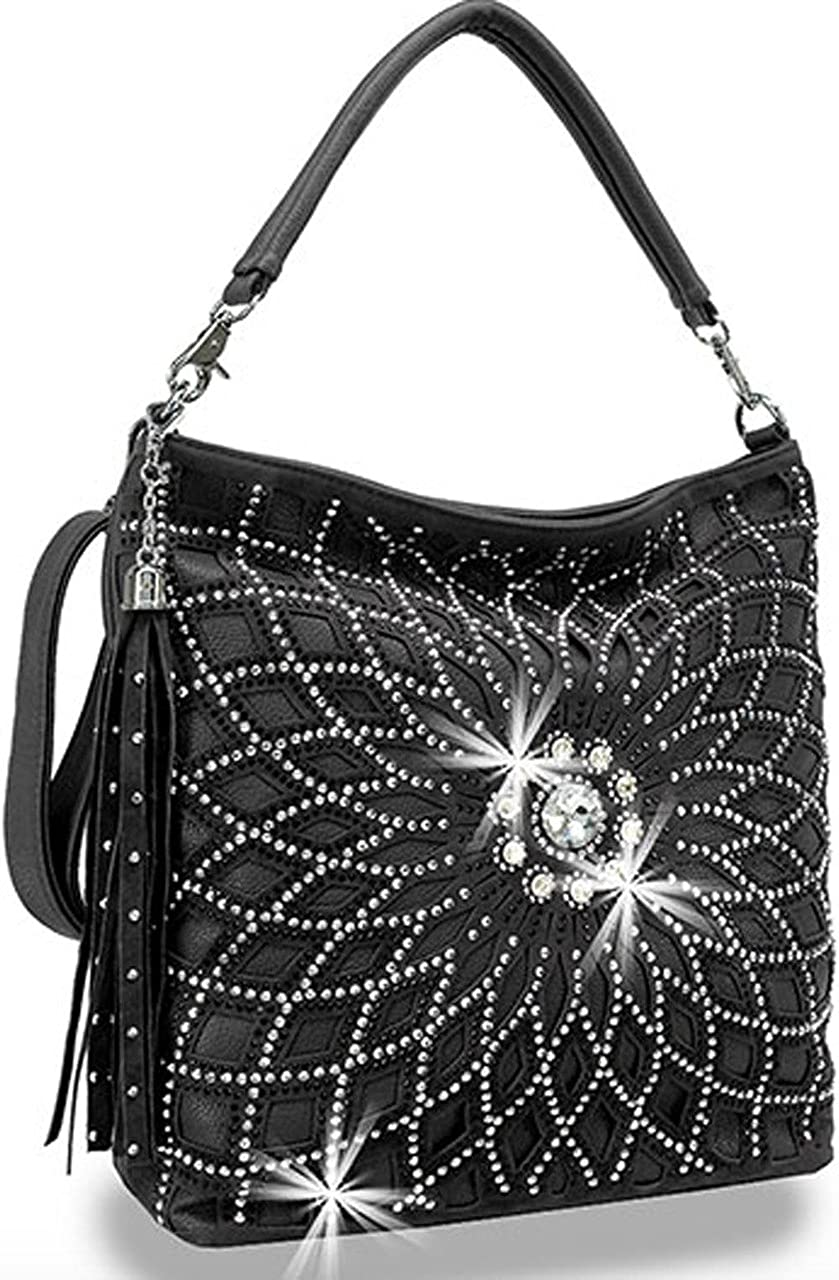 Zzfab Starburst Rhinestone Hobo Strap Ranking integrated 1st place Bag New Free Shipping Shoulder with