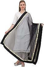Phagun Indian Designer Net Dupatta Long Stole Women Hijab Scarf Throw