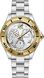 Invicta Anatomic Quartz Silver Dial Ladies Watch 30373