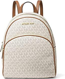 Michael Kors Abbey Signature Med Backpack
