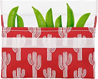 LunchSkins - Bolsa para alimentos, Red Cactus, Storage Bag, 1