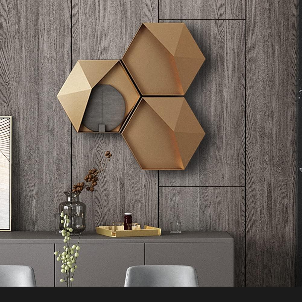 SETSCZY Hexagonal Wall Shelf Metal De 4034.5 Hanging cm Time Limited Special Price sale
