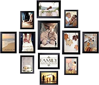 33f11e104294 Homemaxs 12 Pack Picture Frames Collage Photo Frames Wall Gallery Kit for  Wall and Home