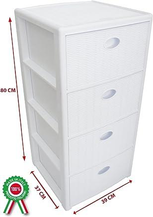 Cassettiere Plastica Colorate.Amazon It Cassettiera Plastica