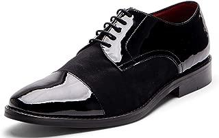 Carlos Santana Mens West Cap-Toe Tuxedo Oxford Dress Shoe Casual Wedding Comfort