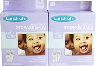 Lansinoh Breastmilk Storage Bags - 25 ct - 2 Pk