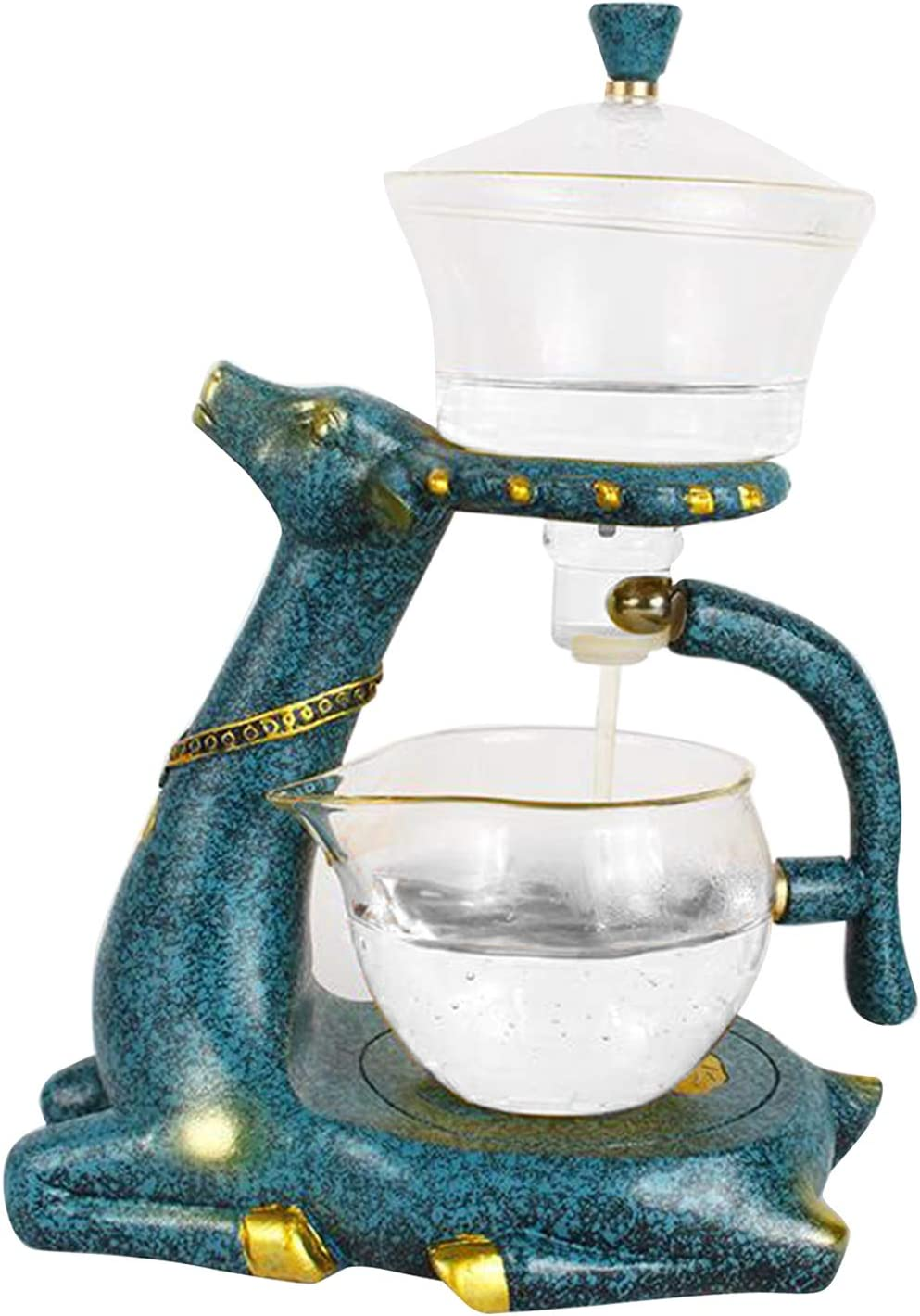 Surprise Challenge the lowest price price Prettyia 350ml Glass Teapot Infuser Teacup Fragrant Ool Pot Drip