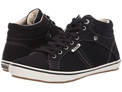 Taos Footwear Top Star (Black Canvas) Women