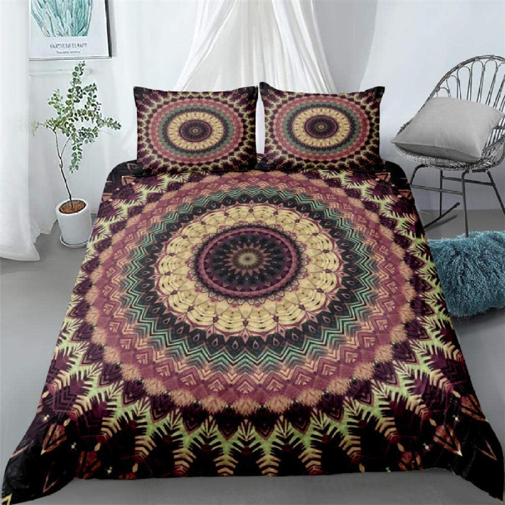 Girls Duvet Covers Double Bohemian Floral Super - Directly managed store Max 78% OFF Beds Pattern S