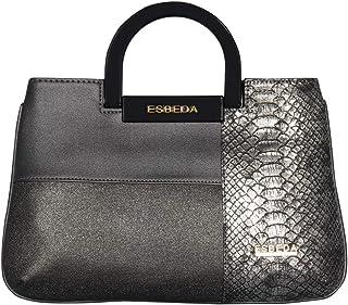 ESBEDA Grey Color Medium Size Cuero Armbag For Women