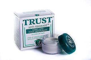 Desodorante para pies Trust,elimina el olor durante