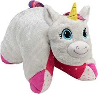 Flipazoo Flip 'N' Play Friends Plush Toy & Pillow in 1 (Unicorn/Fashion Kitty) Instantly Transforms for Hours of Playtime and Na