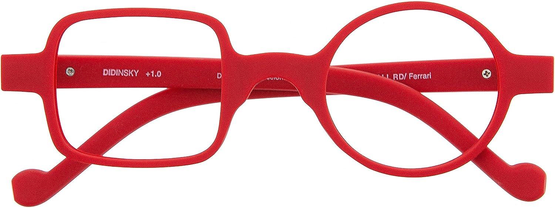 Gafas de Lectura o Presbicia Graduadas Anti bluelight Anti Luz Azul para Hombre y Mujer. Tacto Goma, Patillas Flexibles y Cristales Anti-reflejantes. 8 colores y 5 graduaciones – DALI