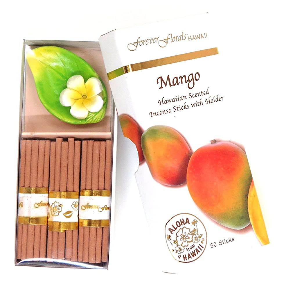 肝意味のある正しくハワイアン雑貨 ハワイ雑貨/Forever Florals ミニインセンスボックス お香 マンゴー 【お土産】