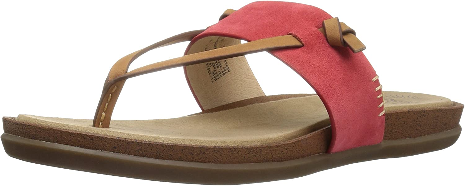 G.H. Bass & Co. Womens Shannon Wedge Flip Flop